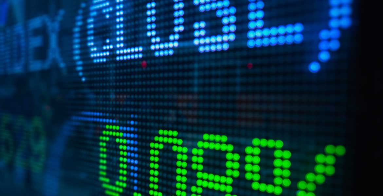 Digital stock board