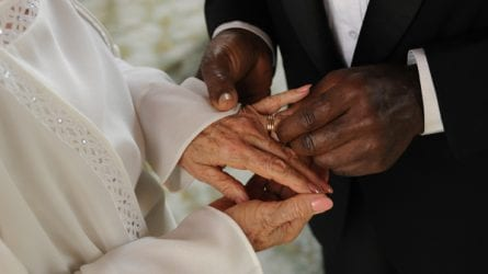 remarriage exchanging wedding bands