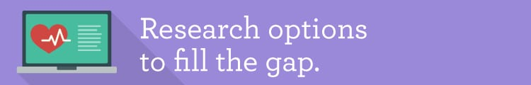 Research options to fill the gap