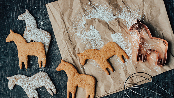 Celebrate Scandinavian culture in the Midwest with these Swedish treats: Pepparkakor spicy ginger cookies.
