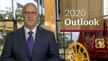 A still image of Darrell Cronk, President of Wells Fargo Investment Institute, taken from a video regarding what investors should consider now.